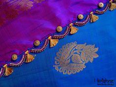 Latest Saree Kuchu with Beads Designs - YouTube