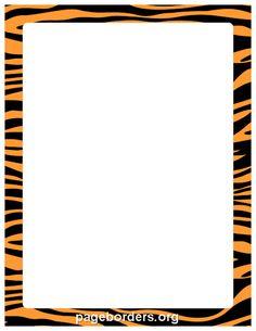 border featuring a leopard print design free gif jpg pdf and png rh pinterest com