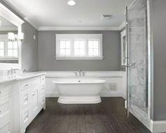 grey white bathroom