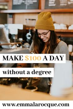 As a student lie above the minimum wage - Emma Larocque Make Above Minimum Wage as a Colleg. - Finance tips, saving money, budgeting planner Make 100 A Day, How To Make Money, Scholarships For College, College Students, College Roommate, Babysitting Jobs, Good Paying Jobs, Thing 1, Budget Planer