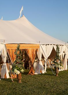 Tent Draping Inspiration - Wedding designed by Easton Events - Destination Wedding Planners with offices in Charleston, SC and Charlottesville, VA photo by Patricia Lyons