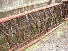 Incredible Garden Fencing Tutorials Ideas 6 Luminous Cool Tips: White Fence Porch natural stone fence.Living Fence How To Build dog fence invisible.Tree Fence Luminous Cool Tips: White Fence Porch natural stone fence.Living Fence How To Build do Front Yard Fence, Farm Fence, Diy Fence, Backyard Fences, Fence Ideas, Home Fencing, Garden Fencing, Garden Art, Bamboo Fence
