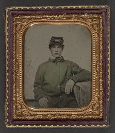 [Unidentified soldier in uniform] (LOC) by The Library of Congress, via Flickr