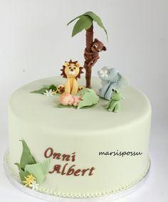 Marsispossu: Nimiäiskakku pojalle, Naming cake for baby boy