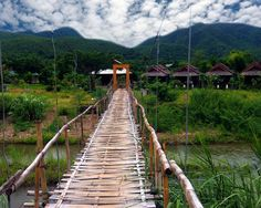 The Ultimate Travel Guide To Pai: Where To Stay & What To Do - Breathing Travel - Destination Unknown Pai Thailand, Bohemian Lifestyle, Ultimate Travel, Chiang Mai, Railroad Tracks, Serenity, Travel Guide, Stuff To Do, Travel Destinations
