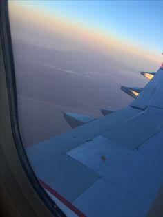 My first flight ❤️🍀