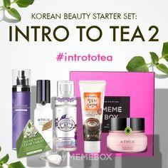 Korean Beauty Starter Set #5 Intro to Tea Version 2