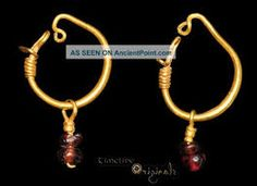 Image result for ancient roman earrings