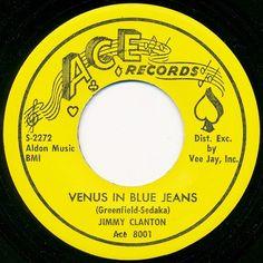 Jimmy Clanton - Venus In Blue Jeans (1962)