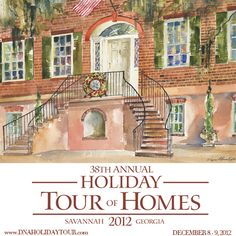Dec 8-9 - See some of Savannah's most grand homes dressed in their holiday best at the Holiday Tour of Homes and Inns in Historic Savannah