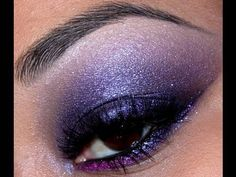 Easy Purple Smokey Eyeshadow Tutorial!