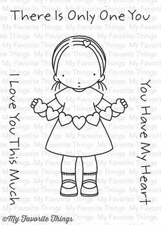 MFT STAMPS: Pure Innocence Heart Banner
