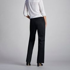 Lee Women's Curvy Fit Maxwell Trouser - Modern Series - Petite Pants (Size 16 SlimP)