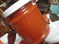 Ketchup, Moscow Mule Mugs, Salsa, Jar, Tableware, Food, Red Peppers, Dinnerware, Tablewares
