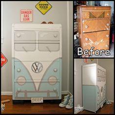DIY Volkswagen Bus Dresser