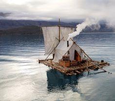 Floating abode.