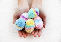 How to Make Easy Easter Egg Pom-Poms — Tuts