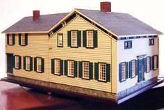 Pat's miniatures - Proctor Homestead