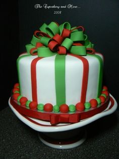 Christmas  By zoey2jack on CakeCentral.com