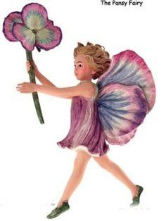 Cicely Mary Barker Pansy Flower Fairy | eBay