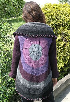 Ravelry: Pinwheel Sweater (Adult) pattern by Shelley Mackie