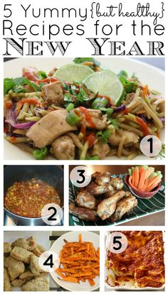 5 Yummy {but healthy} Recipes for the New Year   Houston Moms Blog {...including thai chicken stir fry, paleo chili, wings, chicken strips with sweet potato fries, and lasagna!}