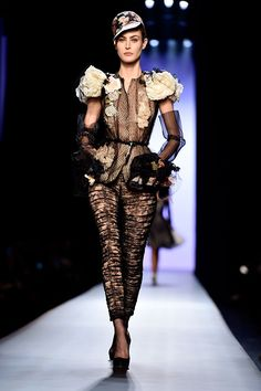 Jean Paul Gaultier Paris Haute Couture Fashion Week S/S 2015 Runway
