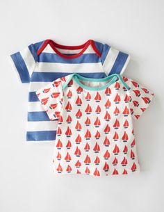Lot de 2 T-shirts Marins