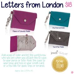 Letters from London by Thirty-One. Fall/Winter 2015. Click to order. Join my VIP Facebook Page at https://www.facebook.com/groups/JennaBrandes/