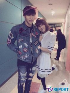 Group BTOB dressed up as girls, showing off their beauty. Group BTOB dressed up as girls, showing off their beauty. BTOB's member Jung Ilhoon especially caught much attention with his couple picture with VIXX's member Leo. Btob Ilhoon, Minhyuk, 2ne1, Leo Vixx, Vixx Ken, Moorim School, Jung Taekwoon, Jellyfish Entertainment, Meme Center