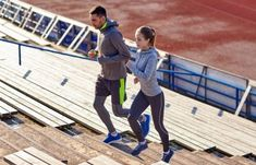 couple running upstairs on stadium by dolgachov. fitness, sport, exercising and lifestyle concept – couple running upstairs on stadium Hiit, Couple Running, Sports Photos, Basketball Court, Deck, Exercise, Lifestyle, Couples, Fitness Sport