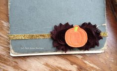 FALL SPARKLE Headband Fall Headbands Baby by LilPinkGoose on Etsy, $9.95