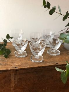 Excited to share this item from my shop: Swedish handblown Etched glasses Scandinavian crystal liquor glasses dessert wine brandy sherry glasses after dinner Sherry Glasses, Liquor Glasses, Dessert Wine, Dinner Table, Wines, Scandinavian, Etsy Shop, Crystals, Tableware