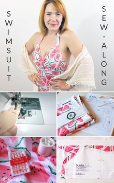 This custom swimsuit sew-along shows all the steps for making a one-of-a-kind summer bathing suit with the print of your choice! Fashion Designer Meg Healy shows us all we need to know to create our very own custom swimsuit. Click to see the full tutorial.