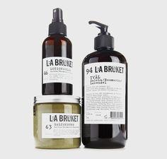Stunning packaging developed by Stefaco Grape for cosmetics brand Lilla Bruket.