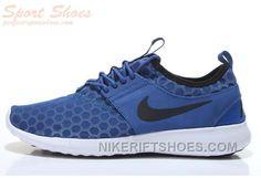 eef34f8b57 Cheap Latest Nike Roshe Run IV ZENJI Stylish Men Running Shoes Navy Blue  Outlet