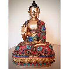 Now available in store. Exclusive Buddha statue stone work. Mosaic Nepal.