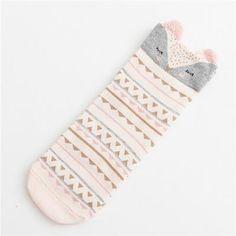 Women's Socks & Hosiery New Real Character Cotton Brand Meias Femininas Warm Cute Cartoon Panda Korean Socks For Women Free Shipping Warm Winter Sokken Superior Performance Underwear & Sleepwears