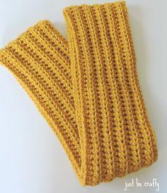 Chunk Crochet Scarf Pattern