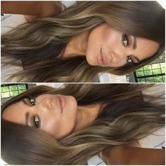Kristina Ambartsumian @makeupbykristinak One more gorgeous...Instagram photo | Websta (Webstagram) Light Brown Hair, Light Hair, Dark Hair, Ombre Hair, Balayage Hair, Blonde Hair, Jessica Burciaga Hair, Cabello Hair, Hair Essentials