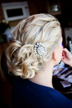 My best friends hair on her wedding day, done by me!! www.laurenarbuckle.com