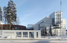 Poliisiammattikorkeakoulu, Hervanta, Tampere, Finland. This is the place, where all finish policemen are studing.