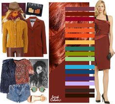 Dark red Color Combinations For Clothes, Color Combos, Fashion Colours, Colorful Fashion, Look Fashion, Womens Fashion, Fashion Design, Color Pairing, Color Theory