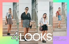 4 Looks con Mini Faldas 💃 Outfits