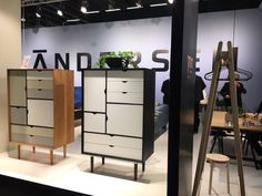 More timeless simplicity from Andersen Stockholm, Divider, Room, Furniture, Home Decor, Bedroom, Decoration Home, Room Decor, Home Furnishings