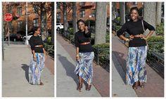 sweater + maxi + belt = skirts/dresses into winter  #winter #maxi #wintermaxi