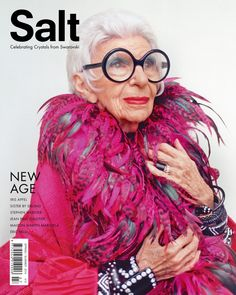 Iris Apfel - Love her!  SO great!