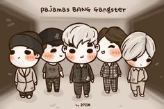 2piim: [fanart] Pajamas BANG Gangster #BIGBANG