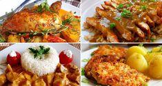 12 skvělých receptů, díky kterým už budete vědět co navařit na neděli! Borscht Soup, Appetizer Plates, Seafood Dishes, Tasty Dishes, Tandoori Chicken, Food Videos, Main Dishes, Breakfast Recipes