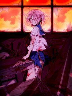 _Takey Yuki (Gakkou Gurashi) by Hiiragi fuyuki Yandere Girl, Yandere Anime, Animes Yandere, Manga Anime, Dark Anime, Anime Zombie, 19 Days Manga Español, Yuno Gasai, Anime Devil